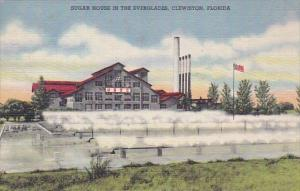 Florida Clewiston Sugar House In The Everglades 1949