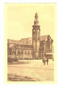 Luxemburg - Gare Centrale, 1910-30s