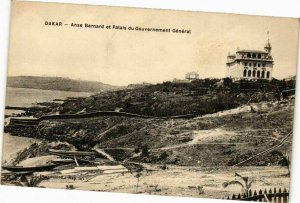 CPA AK Senegal-Dakar-Anse Bernard et Palais du Gouvernement Général (235630)