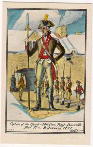Captain of the Guard, 14th Conn Regt