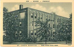 St. Luke's Hospital Thief River Falls Minnesota MN W/B