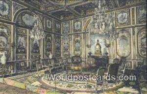 Palais de Fontainebleau, France, Carte, Postcard Salon du Conseil Palais de F...
