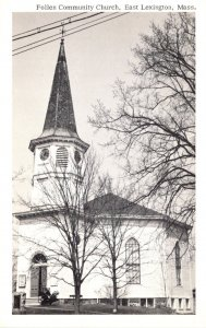 Massachusetts East Lexington Follen Community Church