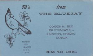 XM48-1651 Gordon M Blue Kingston Ontario Canada