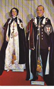 Queen Elizabeth II and Prince Philip Canadian Wax Gallery Banff Alberta