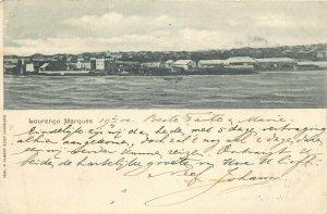 Maputo Mozambique Lourenco Marques postcard