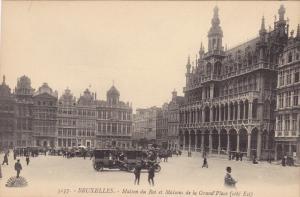 Maison Du Roi Et Maisons De La Grand'Place, BRUXELLES, Belgium, 1900-1910s
