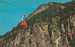 Canyon Air tram - Hells Gate, Trolley House, British Columbia, Canada, 40-60s
