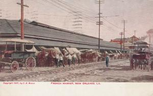 NEW ORLEANS , Louisiana , 1908 ; Franch Market
