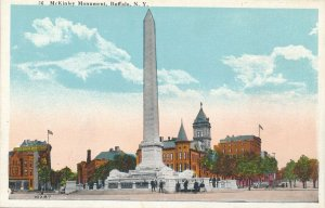 Buffalo NY, New York - The McKinley Monument at Niagara Square - WB