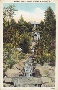 Water Falls At Honor Heights, Muskogee, Oklahoma, 1930-1940s