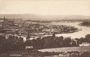 LONDONDERRY , Northern Ireland , 1900-10s ; Panorama
