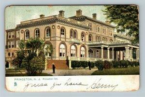 Princeton NJ-New Jersey, Princeton Inn, Vintage c1908 Postcard
