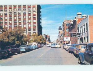 Unused Pre-1980 SHOPS ALONG ONE OF THE MAIN STREETS Regina Saskatchewan SK F0459