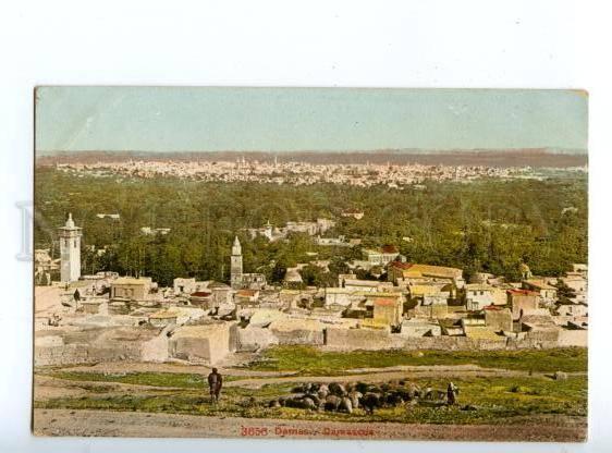 147278 Syria DAMASCUS Vintage photoglob postcard