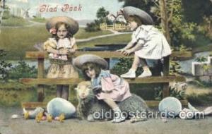 Sheep Children, Child, Postcard Post Card  Sheep