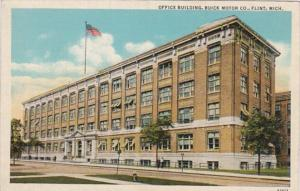 Michigan Flint The Buick Motor Company Building Curteich