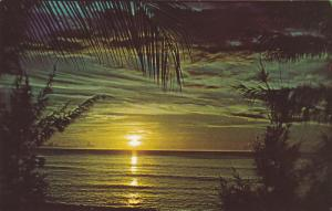 Sunset Barbados , West Indies ,  50-60s