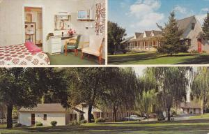 The Willows Motel, U.S. Route 30, LANCASTER, Pennsylvania, 40-60's