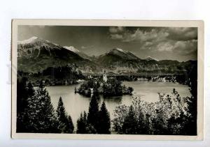 247917 JUGOSLAVIA SLOVENIA Letovisce Vintage photo RPPC