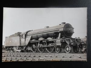 LNER No.2547 DONCASTER Steam Locomotive RP Photocard 110515