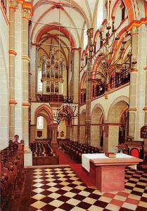 Bacharach Ev. Peterskriche mit Stummorgel Church Interior Eglise