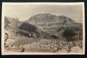 1914 Mint RPPC Postcard US Army Camping Troops Invasion of Veracruz Mexico