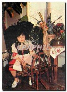 Modern Postcard Little Alsatian