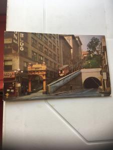 Vintage Postcard: Angel's Flight, worlds shortest Railway, Los Angeles