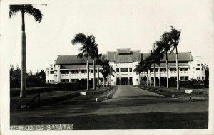 indonesia, JAVA SOERABAIA, Government Building (1920s) RPPC Postcard