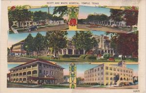 Texas Temple Multi View Scott and White Hospital 1944