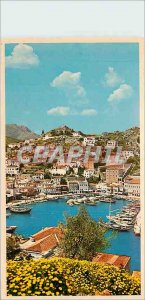 Postcard Modern Hydra picturesque View