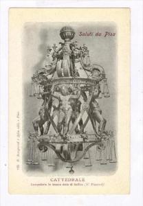 Cattedrale, Lampadario In Bronzo Detto Di Galileo, Saluti Da Pisa (Tuscany), ...