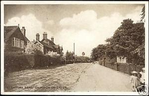 warwickshire, SHIPTON ON STOUR, Stratford Street (1935)