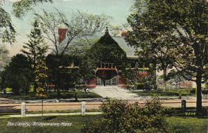 The Library, Bridgewater, Massachusetts, 1900-1910s