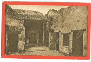 Italy, Pompei, Casa detta dell'Orso, early 1900s used Postcard