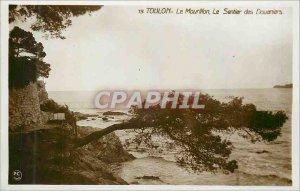 Modern Postcard Toulon Mourillon The Coastguard Path