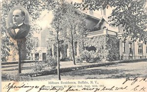 Milburn Residence Buffalo, New York Postcard