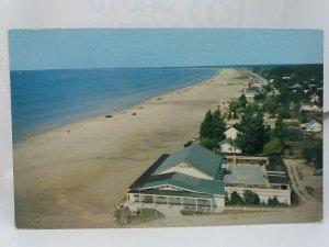 Vintage Postcard Dance Pavilion Sauble Beach Ontario Canada 1967