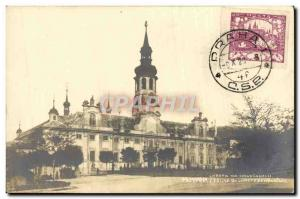 Postal Praha Old Church Lorete Map