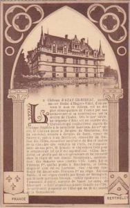 France Azay-le-Rideau Le Chateau d'Azay-Le-Rideau