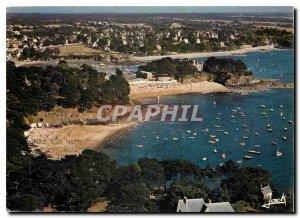 Postcard Modern Colors of Brittany Saint Briac Beaches