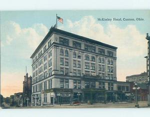 Divided-Back HOTEL SCENE Canton Ohio OH H0459