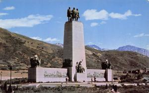 Salt Lake City Utah~This Is The Place Monument Emigration Canyon~1960 PC