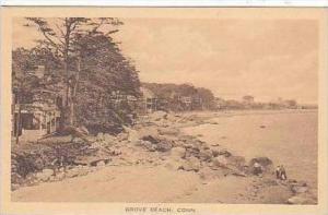 Connecticut Grove Beach Albertype