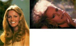 Cheryl Ladd Actress Original 1979 and 1982 Postcards