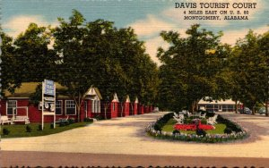 Alabama Montgomery Davis Tourist Court Curteich
