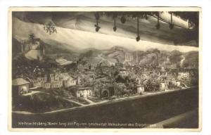 RP; Weihnachtsberg,16 mtr lang. 500 Figureh feschnitz.Volkskunst des Rezgebir...