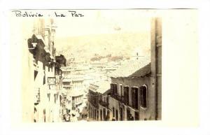 RP, Serial # H-592 Bolivia - La Paz, Street Scene, 00-10s