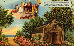 Florida St Augustine Shrine Of Nuestra Senora De La Leche Y Buen Porto